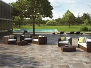Glazed stoneware outdoor floor tiles STONEWAY_BARGE ANTICA - Ragno
