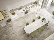 Glazed stoneware flooring with wood effect TREVERKMOOD - MARAZZI