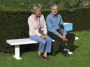 Iroko garden bench BENCH - CASSECROUTE