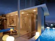 Ceiling mounted overhead shower AXOR OVERHEAD SHOWER | Ceiling mounted overhead shower - HANSGROHE