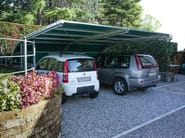 Galvanized steel porch for parking areas COLIBRÌ - SELVOLINA