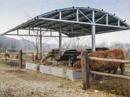 Livestock manger-shelter ALPINA - SELVOLINA
