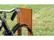 Corten™ Bicycle rack CLOS - Metalco