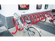 Steel Bicycle rack SPYRA - Metalco