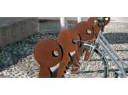 Steel Bicycle rack CHIAVE - Metalco
