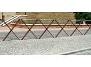 Corten™ pedestrian barrier ICS - Metalco