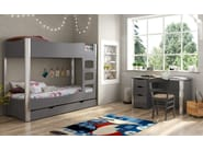 Kids writing desk with drawers FUSION | Writing desk - Mathy by Bols