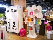 Wardrobe for kids' bedrooms with casters NEW WORKER | Wardrobe - Mathy by Bols