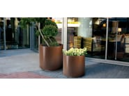 Corten™ Flower pot ASTER - Metalco
