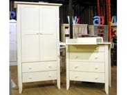 Wardrobe with drawers for kids' bedrooms TILLEUL   Wardrobe - Mathy by Bols