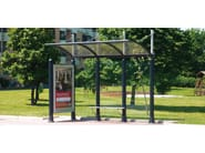 Steel porch ARTS - Metalco