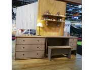Free standing MDF chest of drawers DAVID | Chest of drawers - Mathy by Bols