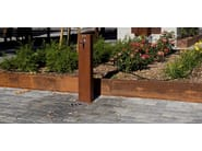 Steel Drinking fountain FUENTE - Metalco