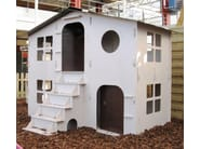 Playhouse for playground LOLA CHALET DOUBLE - Mathy by Bols
