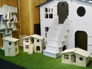 Wooden game for children LOLA MINI CHALET DOUBLE - Mathy by Bols