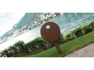 Wall-mounted steel waste bin FLOM - Metalco