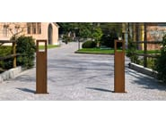 Fixed steel bollard WORD - Metalco