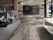 Porcelain stoneware flooring with wood effect BARRIQUE - Ceramiche Refin