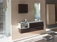 Walnut bathroom furniture set MY FLY EVO | Bathroom furniture set - IdeaGroup