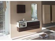 Wenge vanity unit COMP MFE04 - IdeaGroup