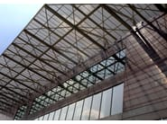 Continuous metal laminate for facade TECU® Oxid - KME Architectural Solutions