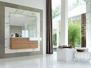 Lacquered walnut vanity unit COMP MFE09 - IdeaGroup