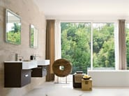 Single wall-mounted vanity unit COMP MFE11 - IdeaGroup