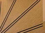 Wooden staircase cladding Stairs - Plexwood