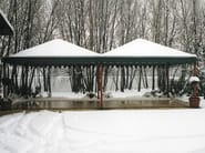 Galvanized steel gazebo WINTER - SELVOLINA