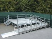 Aluminium Entrance ramp LEVEL - SELVOLINA