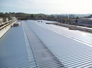 Insulated metal panel for roof TOP 28® - CENTROMETAL