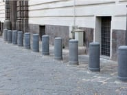 Fixed reinforced concrete bollard Bollard - F.lli Maresca