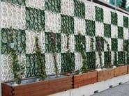 Vertical gardening grid WALL-Y - GEOPLAST