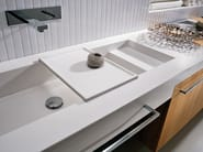 Single oak vanity unit COMP TE2 - IdeaGroup