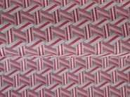 Solid-color jacquard fabric TRIBU - LELIEVRE