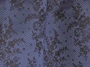 Damask cotton fabric with floral pattern CASINO - LELIEVRE