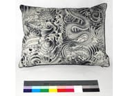 Rectangular cotton cushion SAGESSE - LELIEVRE