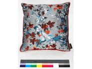 Square viscose cushion TAPISSERIE - LELIEVRE