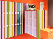 Wooden furniture foil HY01 - BAYADÈRE | Furniture foil - Polyrey