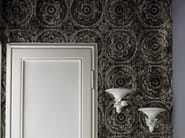 With floral pattern BLACK MAMA - Wall&decò