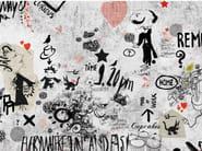 Writing wallpaper MONSIEUR DIDOT - Wall&decò