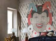 Geometric wallpaper THE JOKER - Wall&decò