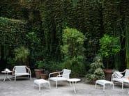 Low Round garden side table TRIO - Tacchini Italia Forniture