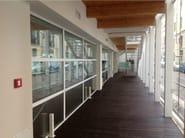 Thermal break steel patio door ISO 70 TAGLIO TERMICO | Patio door - Mogs srl unipersonale