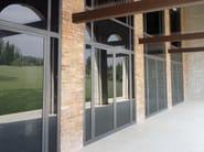 Steel patio door ISO 55 BASIC - Mogs srl unipersonale