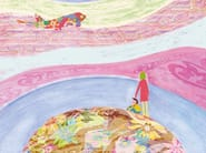 Motif kids wallpaper MAGIC TRIP - Wall&decò