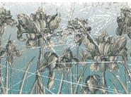 Wallpaper with floral pattern HERBARIUM - Wall&decò