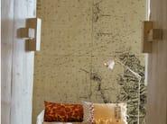 Panoramic writing wallpaper LOSTING MAP - Wall&decò