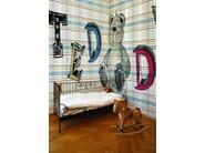 Tartan kids wallpaper GUGU GAGA - Wall&decò