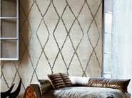 Geometric wallpaper SIGNORINA - Wall&decò